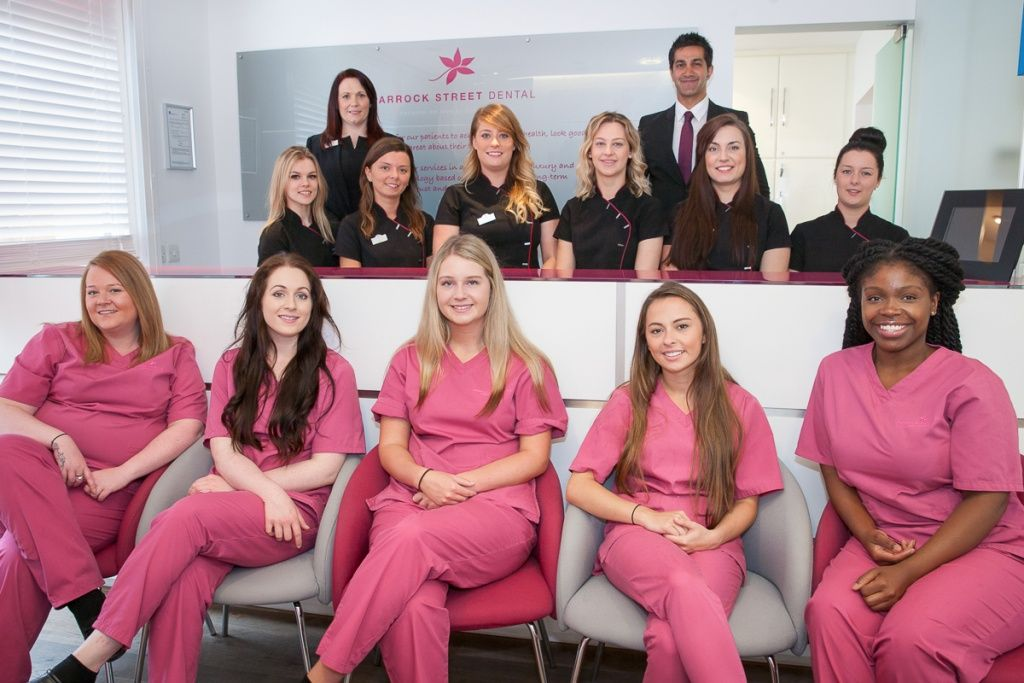 Parrock Street Dental practice team