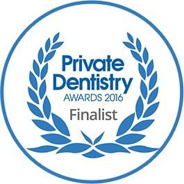 Customer service award 2014 won by Parrock dental & Implant Centres