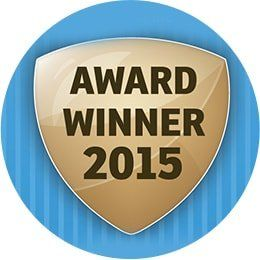 Customer service award 2015 won by Parrock dental & Implant Centres